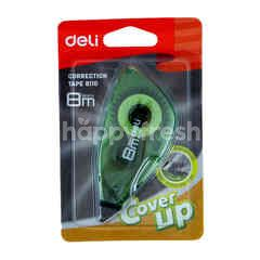 Deli Correction Tape 8110 in Green Color