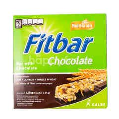 Fitbar Bar Chocolate Source of Fiber