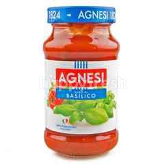 Agnesi Spaghetti Sauce And Basilico