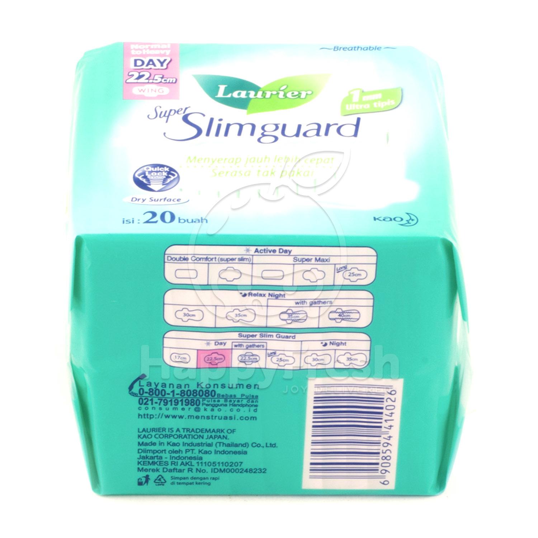 Happyfresh Laurier Super Slimguard Night 14s
