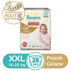 Pampers Premium Care Popok Celana Bayi Aktif XXL