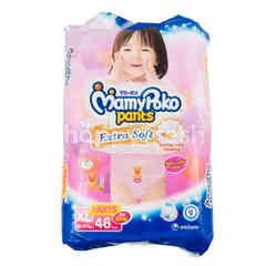 MamyPoko Extra Soft Baby Diaper Pants Size XL (46 pieces)