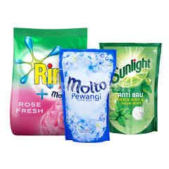 Unilever Rinso, Molto, Sunlight Ultimate Cleaning Kit 3