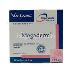 Virbac Megaderm Sachets Monodoses Large Cats and Dog Nutrition