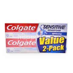 Colgate Sensitive With Sensifoam Whitening Toothpaste
