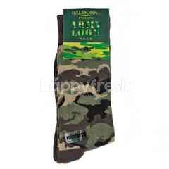 Balmoral England Kaus Kaki Army Ukuran 25-26cm