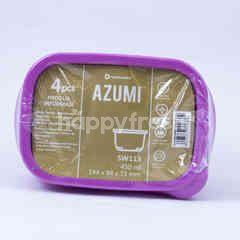Technoplast Azumi Kotak Makan 450ml 144x97x71mm