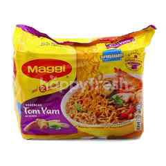 Maggi Tom Yam Flavoured Instant Noodles (5 Packs)