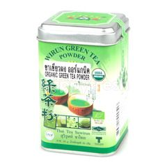 Thai Tea Suwirun Organic green Tea Powder