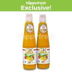 GK WHITE label Passion Fruit Syrup Bundle