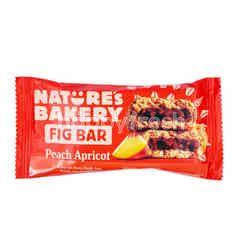 Nature's Bakery Kue Gandum Utuh Pasta Buah Ara Rasa Buah Persik dan Aprikot
