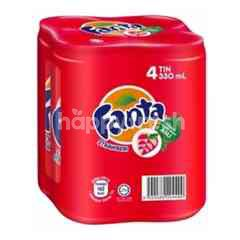 Fanta Strawberry Drink (4 Cans)