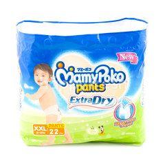 MamyPoko Extra Dry Baby Pants Diaper XXL (22 pieces)