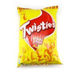 Twisties Cheeky Cheddar Cheese Corn Snack