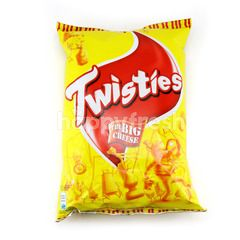 Twisties Cheeky Cheddar Cheese Corn Snack