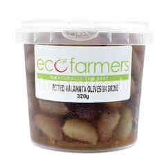 Eco Farmers Pitted Kalamata Olives in Brine