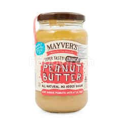 Mayver's Super Tasty Crunchy Peanut Butter