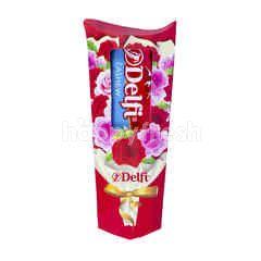 Delfi Cokelat dengan Kacang Mede