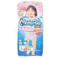 Mamy Poko Baby Diapers For Girls Size L (44 Pieces)