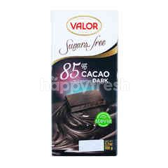 Valor 85% Supreme Cacao Dark - Sugars Free