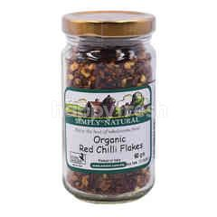 Simply Natural Organic Red Chilli Flakes