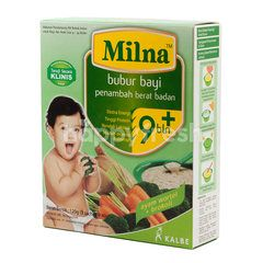 Milna Instant Powdered Supplement Food for Baby with Chicken, Carrot and Broccoli Flavor