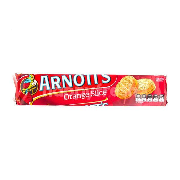 Arnott's Orange Slice Biscuits