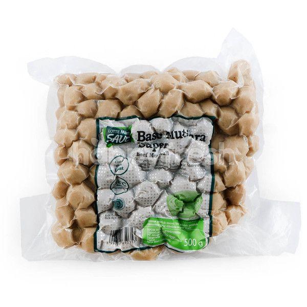 Choice L Save Pearl Cut Beef Meatballs