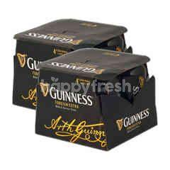 Guinness Bir Hitam Extra Stout 4 x 320ml Twinpack
