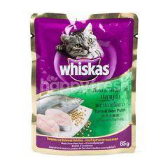 วิสกัส รสปลาทูน่า & ปลาเนื้อขาว สำหรับเเมวโต