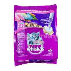 Whiskas Junior Makanan Anak Kucing Rasa Ikan Kembung untuk 2-12 Bulan