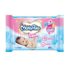 Mamy Poko Baby Wipes Gentle Cleaning 80 Sheets