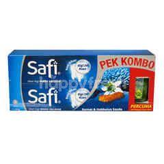 SAFI Gamat & Habbatus Sauda Toothpaste (2 Pieces)