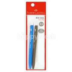 Faber Castle Rx 0.5 Gel Pen (2 Pieces)
