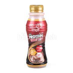 เมจิ ไฮ โปรตีน นมพร่องมันเนยรสช็อกโกแลต สูตรเวย์ 350 มล.