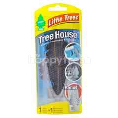 Little Trees Tree House Black Air Freshener