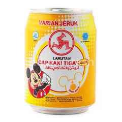 Cap Kaki Tiga Kids Orange Flavored Cooling Water