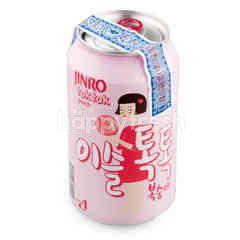 Jinro Tok Tok Fruit Wine Peach Flavour (Can)