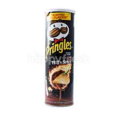Pringles Hot and Spicy Potato Chips