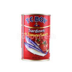 Tc Boy Sardines In Tomato Sauce