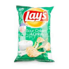Lay's Export Sour Cream & Onion Flavored Potato Chips