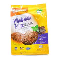 Le'Natura Wholesome Fiber Biscuits Chocolate