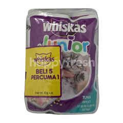 Whiskas Junior Pouch Tuna (Buy 5 Free 1)