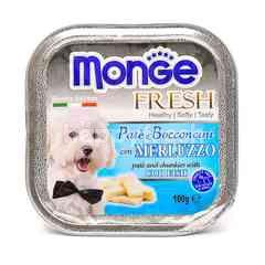 MONGE Pate And Chunkies With Cod Fish Dog Food