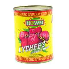 Howei Lychees In Heavy Syrup