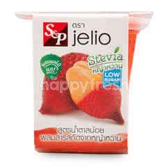 เอส แอนด์ พี เจลิโอ เยลลี่คาราจีแนน ผสมเนื้อสละน้ำสละ สูตรน้ำตาลน้อย