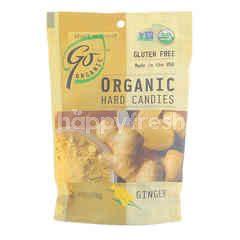 GO ORGANIC Organic Hard Candies - Ginger