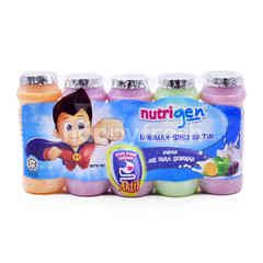 Nutrigen Assorted Flavoured Milk Cultured Drink (5 Bottles)