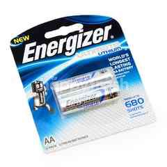 Energizer Ultimate Lithium AA Battery (2 Pieces)