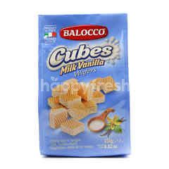Balocco Cube Milk Vanilla Cream Wafers